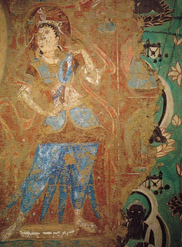 Mogao caves dunhuang china photos for Chinese mural painting