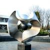 Dynamic sculpture fountain