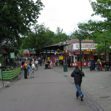 Various Restaurants And Attractions