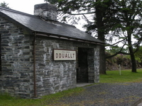Dduallt Railway Station