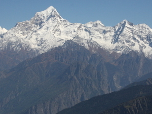 Dunagiri Mountain