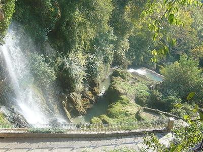 Edessa's Waterfall
