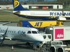 Ryanair And Flybe Aircraft