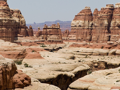 Elephant Canyon - Druid Arch Trail - Canyonlands - Utah - USA