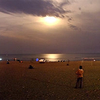 Elliots Beach Moonlight Panorama