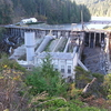 Elwha Dam Which Created Lake Aldwell