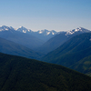 Elwha River Valley From Hurricane Ridge