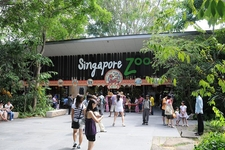 Entrance To Singapore Zoo