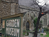 Entrance To The Garden Museum