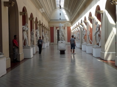 Ancient Statues Of The Museu Nacional De Belas Artes