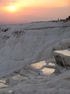 Evening In Pamukkale