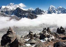 Everest From Gokyo Ri - Sagarmatha NP