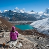 Everest & Gokyo Lake From Renjo La - Nepal Himalayas