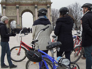 Paris Bike Tour Photos