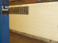 East 143rd Street St. Mary's Street Station