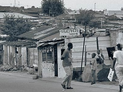 Main Road Into The Township
