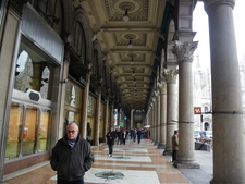 One Of The Porticoes In The Square