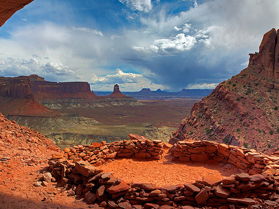 False Kiva - Canyonlands - Utah - USA