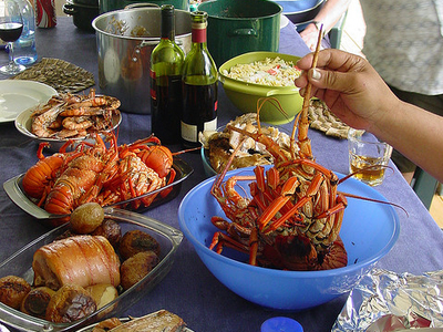 Feast At The Cross Residence - Niue