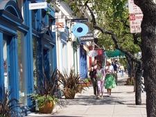 Boutiques Along Fillmore Street