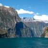 Fiordland Steep Cliffs @ Milford Sound NZ Southland