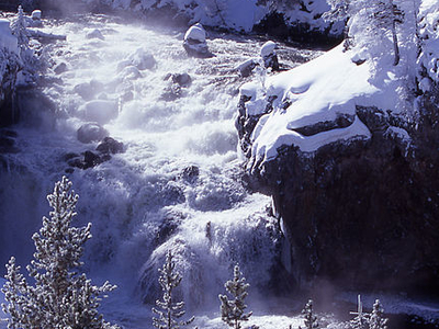 Firehole Falls - Yellowstone - USA