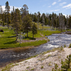 Firehole River Flow Through Yellowstone