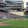 First Pitch At Target Field