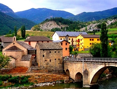Fiscal Bridge - Pyrenees Spain