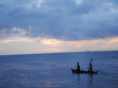 Fishermen In Mindano Sea