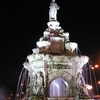 Night-Lit Flora Fountain