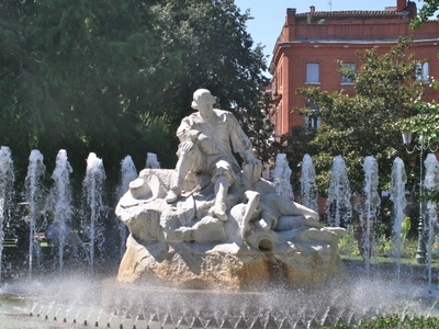 The Fountain In Wilson Square