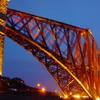 Forth Bridge At Night