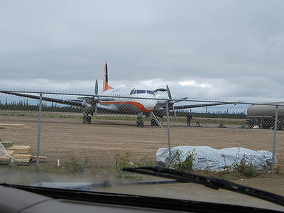 Fort McPherson Airport