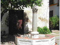 Fountain of la Plaza de las Flores