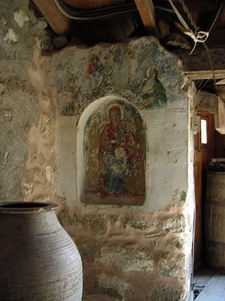 Fresco - Holy Trinity Monastery - Meteora