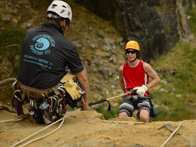 Full Day Climbing & Abseiling Photos