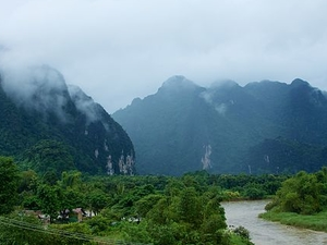 Full Day Excursion To Vang Vieng From Hotel Inside Vientiane City Only Photos