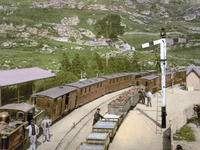 Tan y Bwlch Railway Station