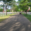 A Street In Fort Logan National Cemetery