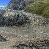 The Glacier Reaching The Rainforest