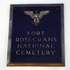 Ft Rosecrans Entry Plaque