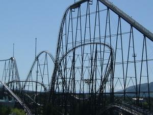 Fujiyama Roller Coaster