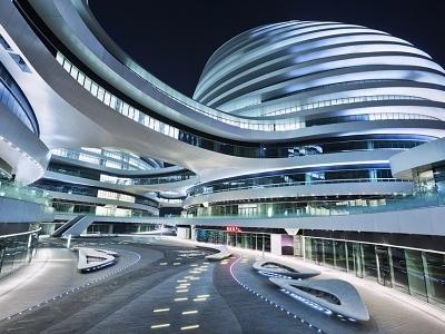 Galaxy - Zaha Hadid - Guangzhou