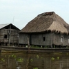 Ganvie Stilt Village House