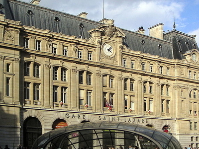Gare Saint-Lazare West Entrance