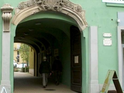 Gate of Grassalkovich House