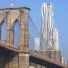 Gehry 8 Spruce Street From Brooklyn Bridge