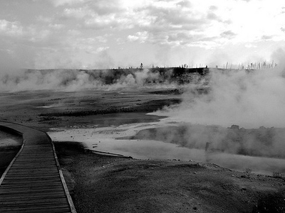GenGeyser-4 For Labial Geyser - Yellowstone - USA