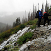 GenTrail-06 For Flattop Mountain Trail - Glacier - Montana - USA